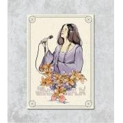 Decorativo - Cantora