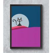 Decorativo - Luar felino