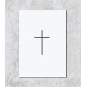 Decorativo - Cruz Minimalista