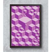 Decorativo - Cubos 3d lúdicos