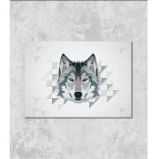 Decorativo - Desenho de lobo