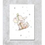 Decorativo - Elefantinho e as Estrelas