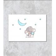 Decorativo - Elefantinho e as Estrelas Azuis