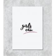 Decorativo -  Girls Can