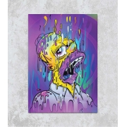 Decorativo - Homer Psicodélico