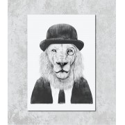 Decorativo - Leão gentleman
