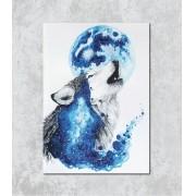 Decorativo - Lobo Surreal