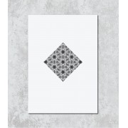 Decorativo - Mandala em Losango