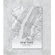 Decorativo -  New York map