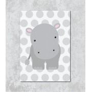 Decorativo - Pequena Hipopótamo