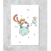 Decorativo - Pequeno Príncipe e seu Planeta