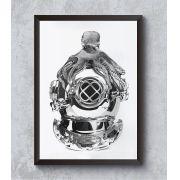 Decorativo - Polvo mergulhador