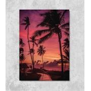 Decorativo - Pôr-do-sol na Praia