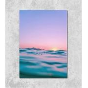 Decorativo - Pôr-do-sol no Mar