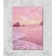 Decorativo - Pôr-do-sol Rosa