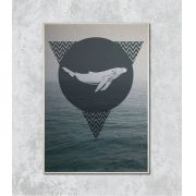 Decorativo - Whale abstract
