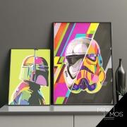 Kit com 2 decorativos - Star wars