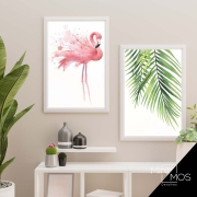 Kit com 2 decorativos - Tropical