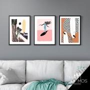 Kit com 3 decorativos - Arte Urbana Suf