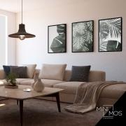Kit com 3 decorativos - Folhagem
