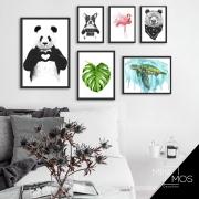 Kit com 6 decorativos - Variados