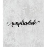 Palavras de parede - Simplicidade
