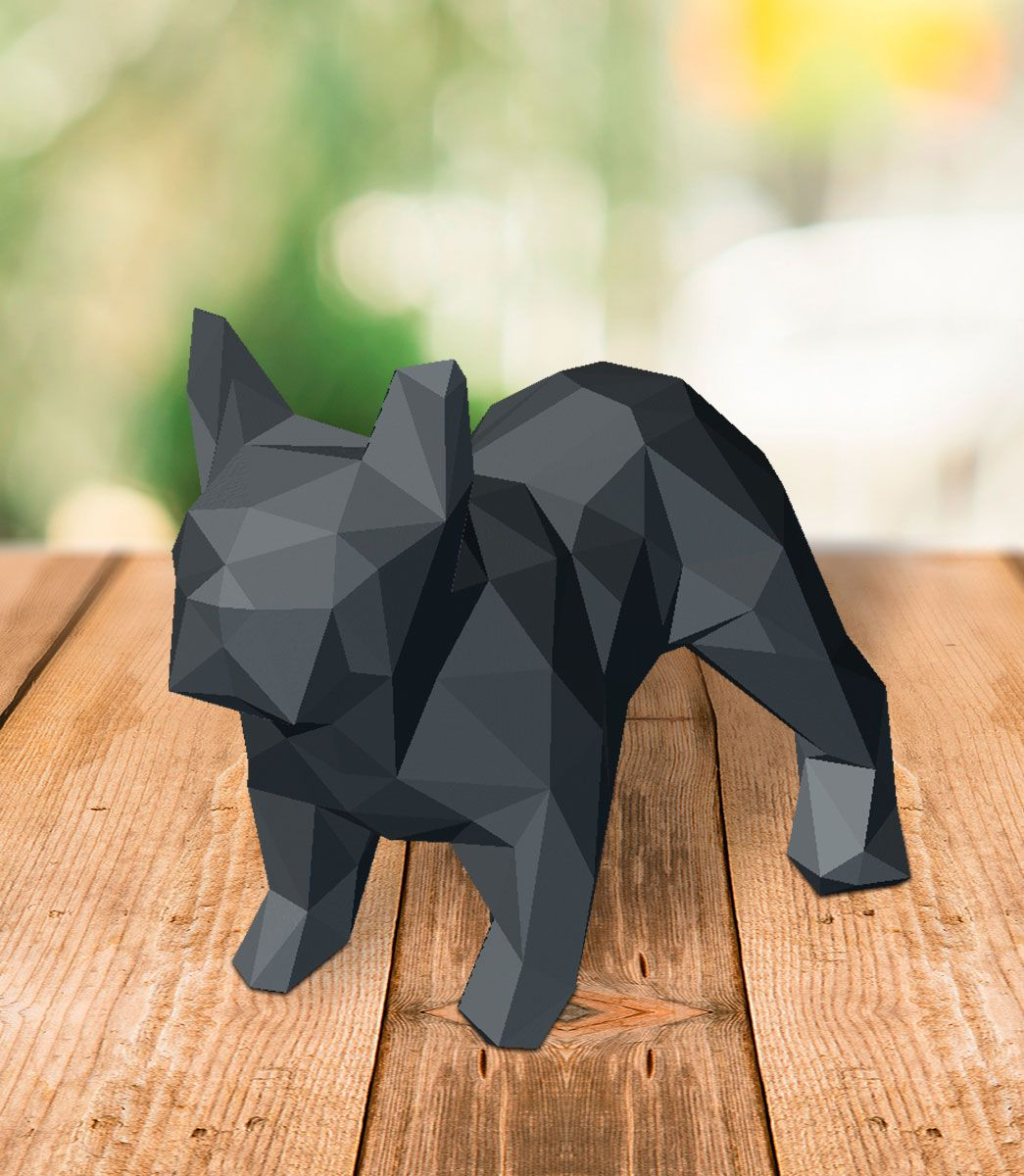 Bull Dog - Low Poly