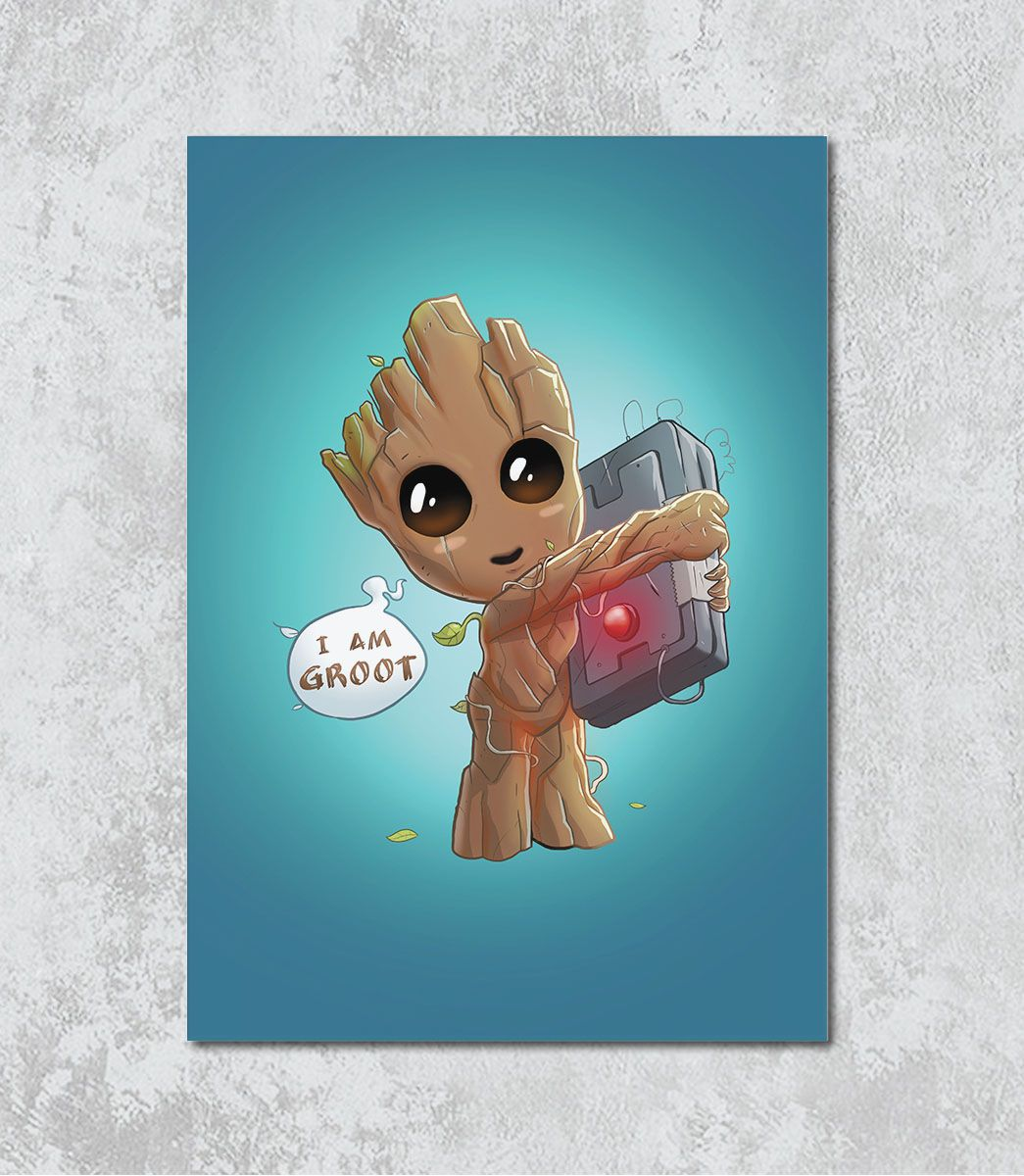 Decorativo - I am Groot