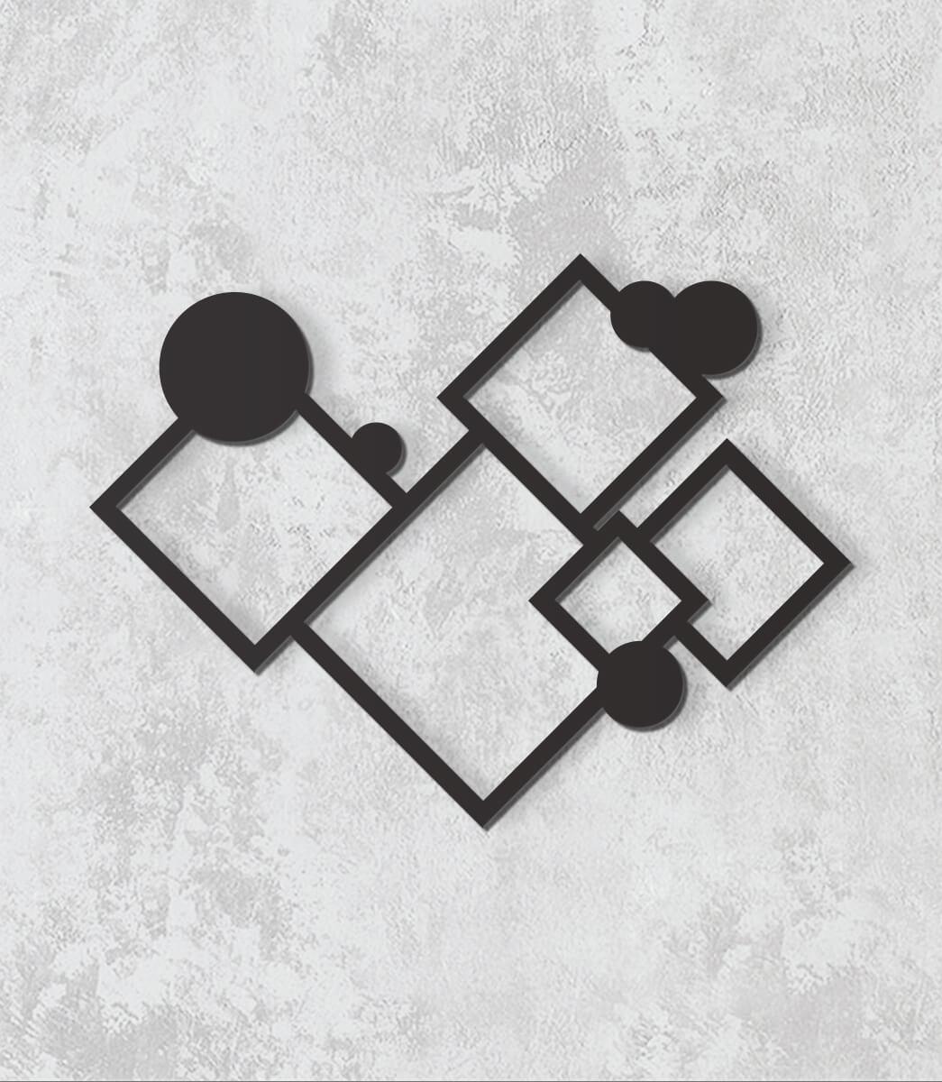 Decorativo 2D - Formas geométricas