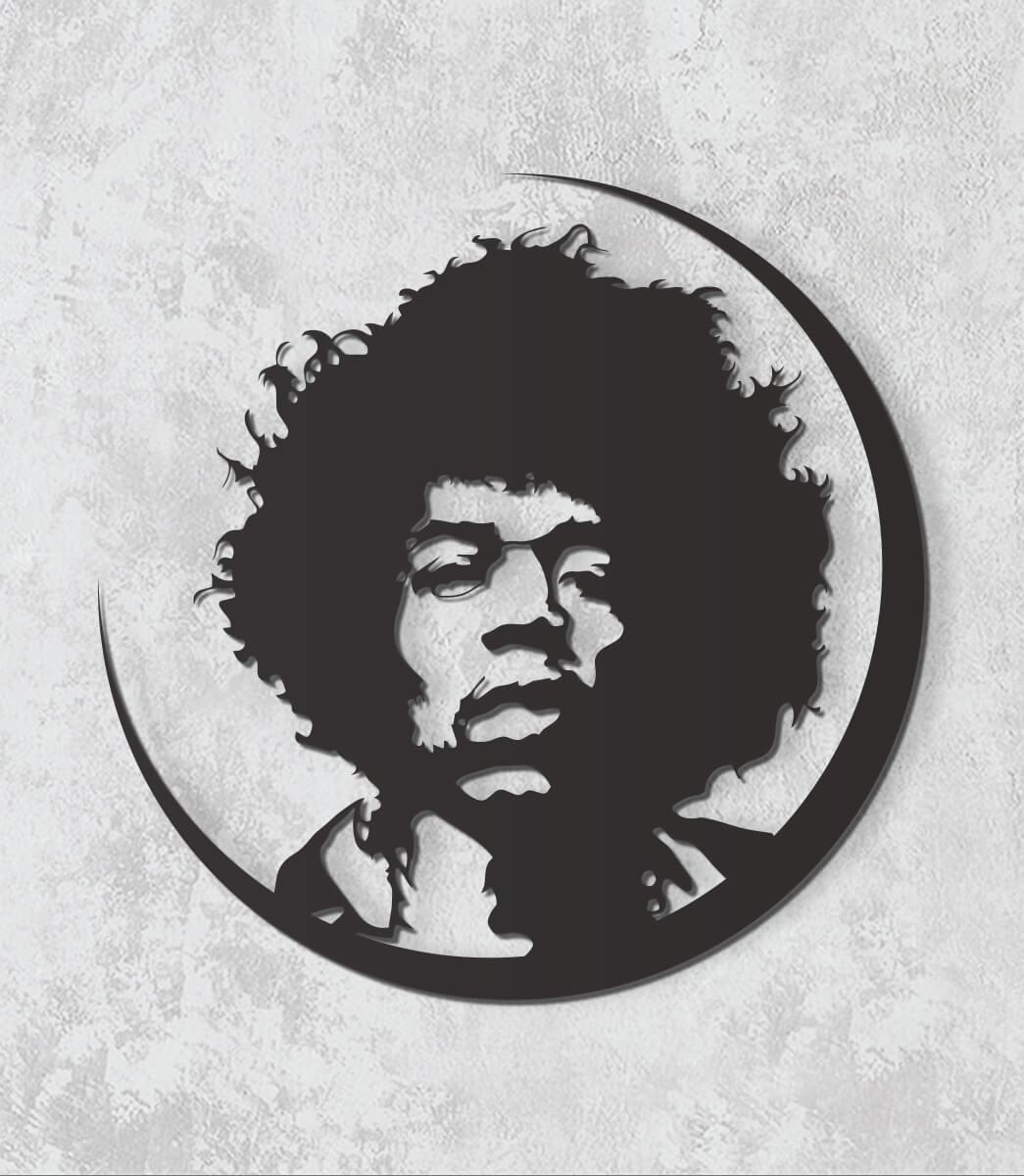 Decorativo 2D - Jimy Hendrix