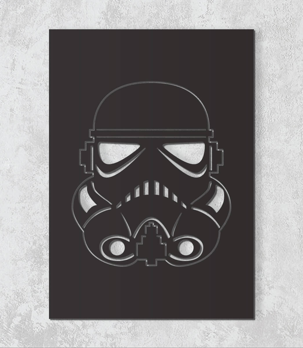 Decorativo 2D - Stormtrooper