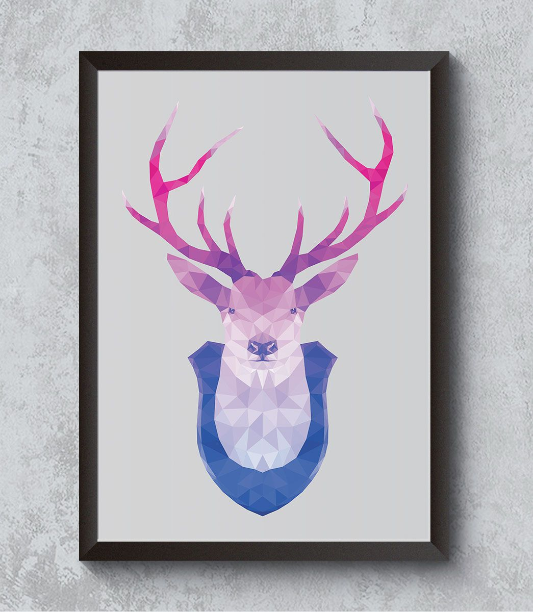 Decorativo - Deer drawing