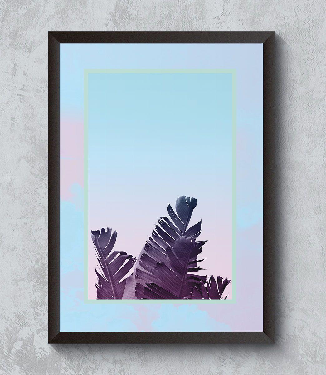 Decorativo - Folhas de bananeira