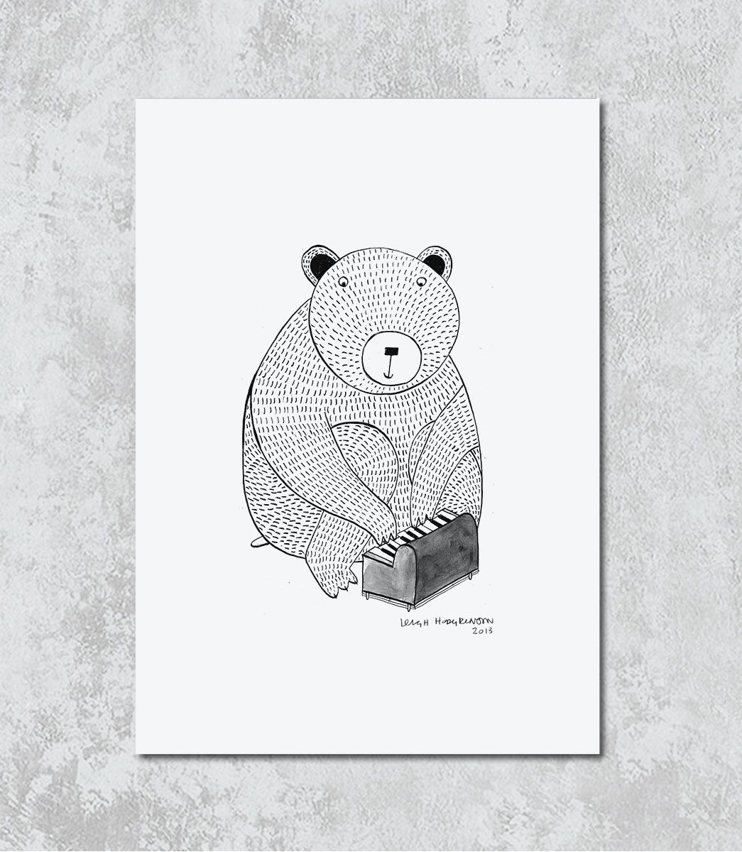 Decorativo - The Musician Bear