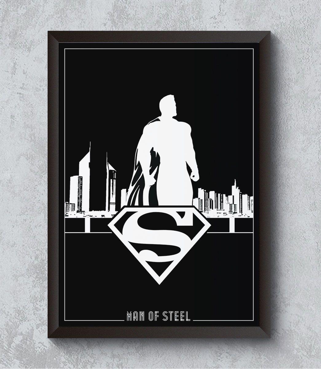 Decorativo - Homem de aço