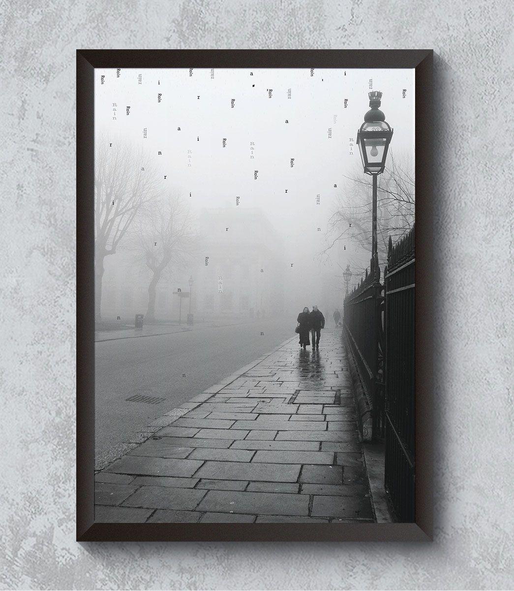 Decorativo - Is raining in London