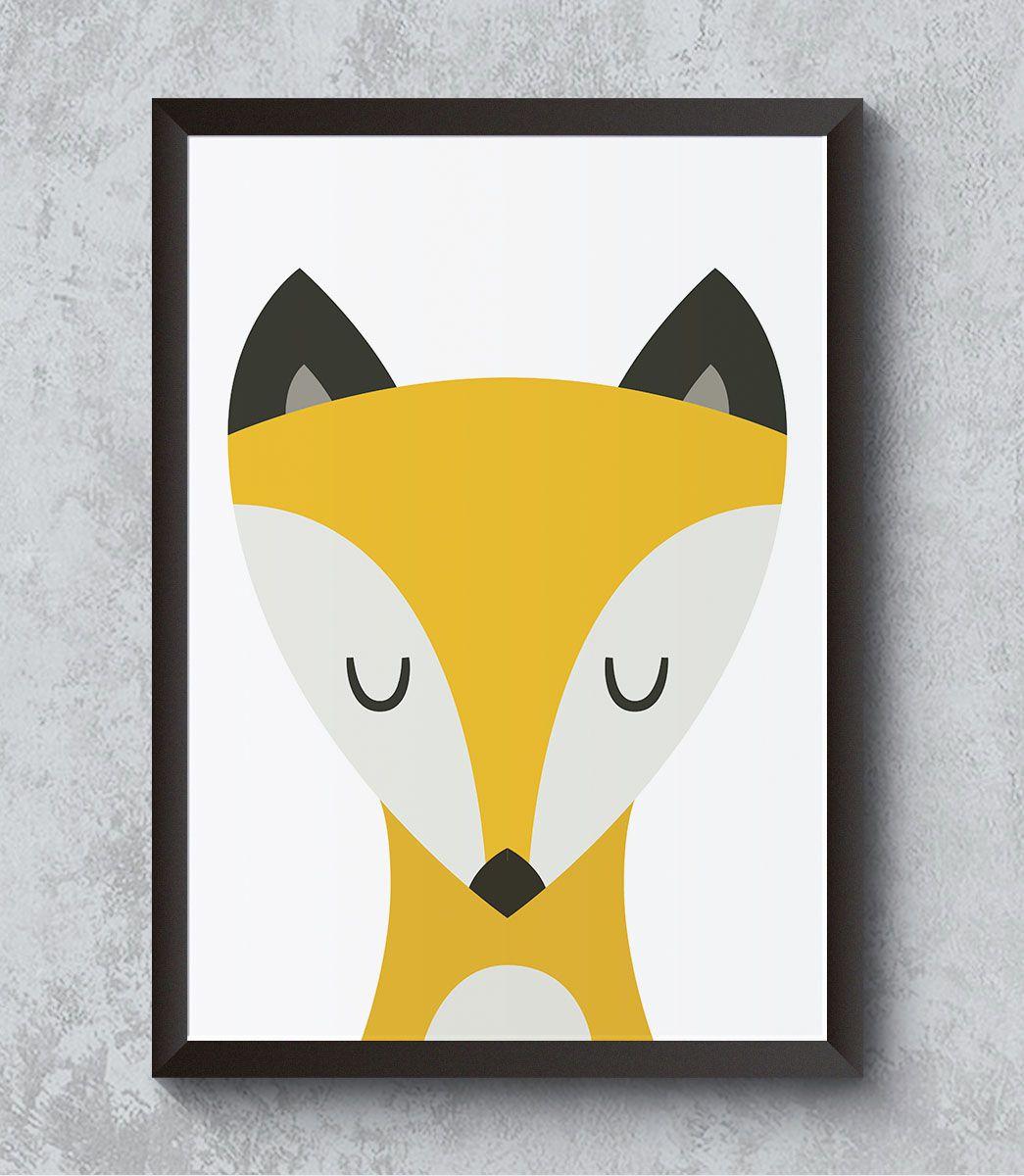 Decorativo - Raposa com soninho
