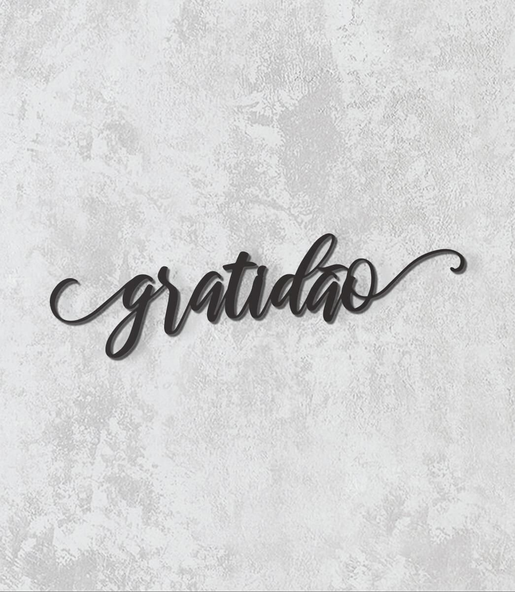 Palavras de parade - Gratidão