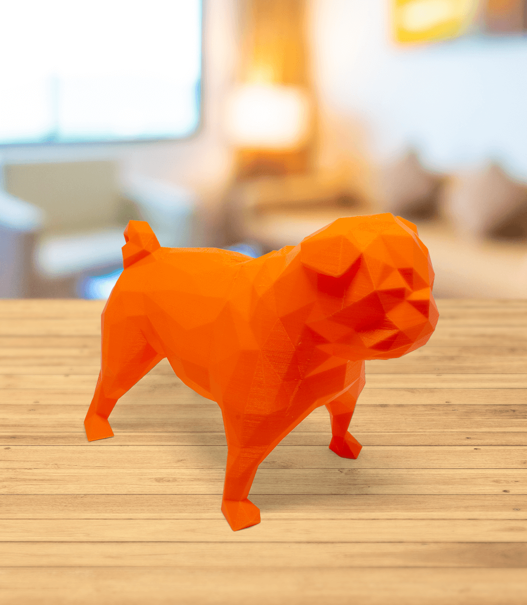 Pug - Low Poly 1