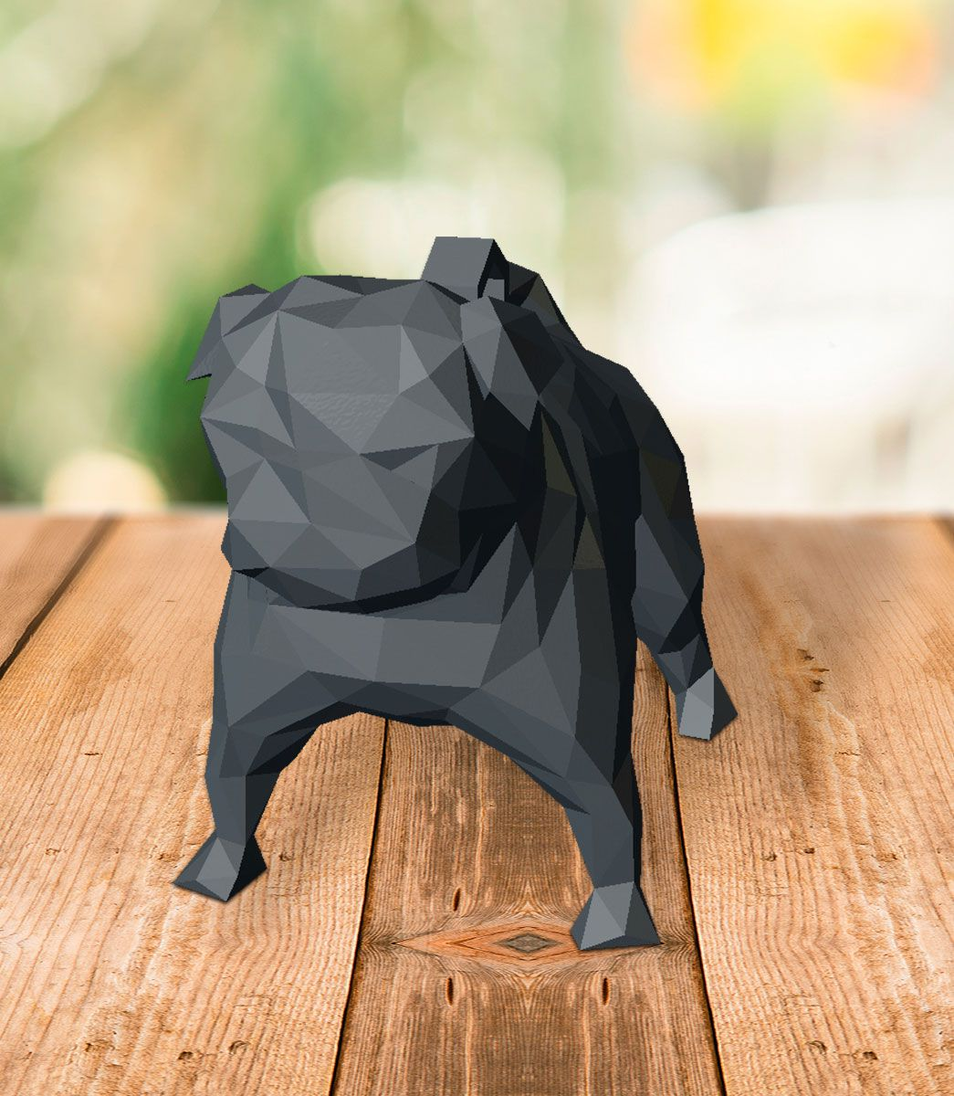 Pug - Low Poly