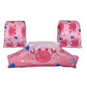 Boia Infantil  Colete Siri Rosa - Ecoeplay