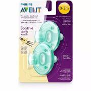 Chupeta Avent Soothie Vanilla 0-3m