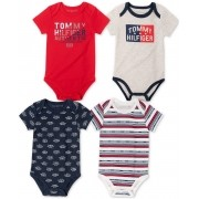 Kit 4 Body Menino  - Tommy Hilfiger