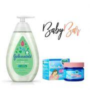 Kit Vapor Bath Johnsons + Vick Baby Rub