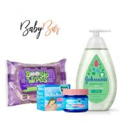Kit Vapor Bath Johnsons + Vick Baby Rub + Boogie