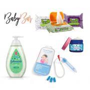 Kit Vapor Bath Johnsons + Vick Baby Rub + Nosefrida + Boogie