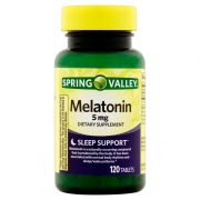Melatonina  5mg (120Tabs) - Spring Valley