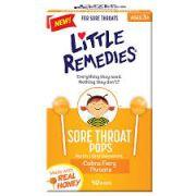 Pirulito para dor de garganta - Little Remedies