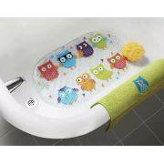 Tapete de Banho Anti Derrapante Coruja