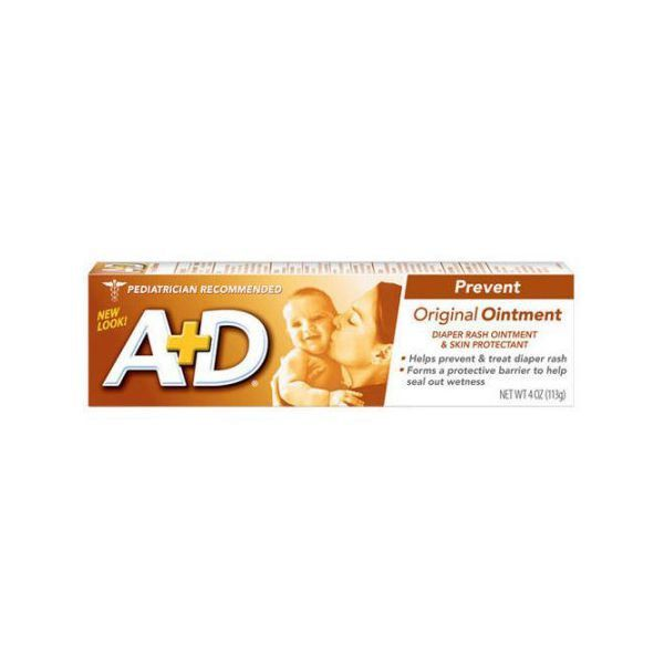 A+D Bisnaga 113gr - Pomada Prevenção Assaduras